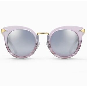 NWT Stella& Dit Wesley sunglasses in blush